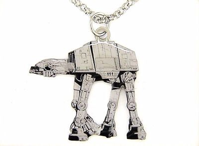 BRAND NEW Disney Star Wars AT-AT  Necklace Stainless Steel Jewlery