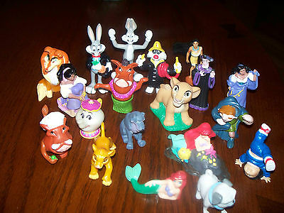 Disney Animation Characters Cake Toppers Toys