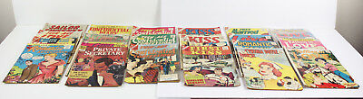 Vintage Lot of 21 Romance Comic Books Silver Age 1950's-1960's Comics