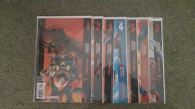 MARVEL COMICS ULTIMATE SIX ISSUES #1-7 Complete VF/NM (SPIDER-MAN)