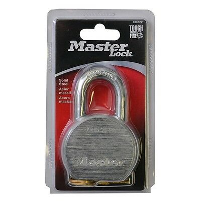 Stock Pcs. 3 Armored Padlock Master Lock Stainless Uses Industrial 930D 60 Mm