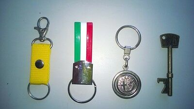 Keyring Plus Krapac Pieces 4 Assorted Samples Only Keychain With Ring