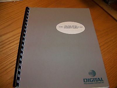 Digital Processing Systems DPS-9500 Series Video DA Operator's Manual