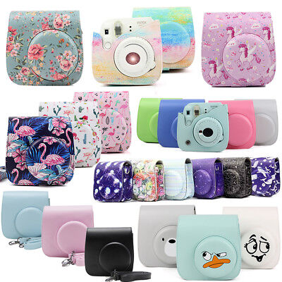 For Fujifilm Instax Mini 8 / Mini 9 Film Instant Camera Carrying Case Bag Cover