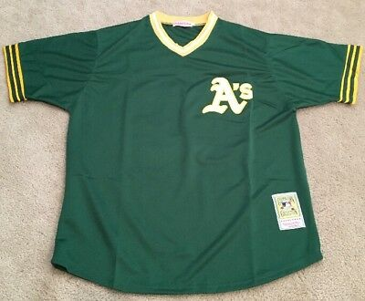 new arrival f03fc 1c050 JOSE CANSECO OAKLAND Athletics Retro Throwback Jersey Mens XL NWT GREEN A's
