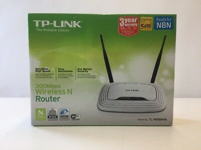 TP-LINK TL-WR841N 300Mbps Wireless N Router - New: Never Used - NBN READY