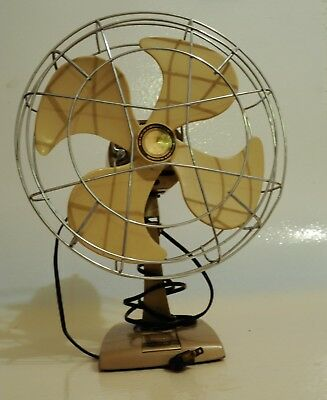 Vintage Toastmaster Accelerating Fan/ Working