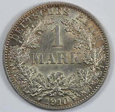 Germany (Empire) 1910 'A' Silver Mark, Choice Uncirculated