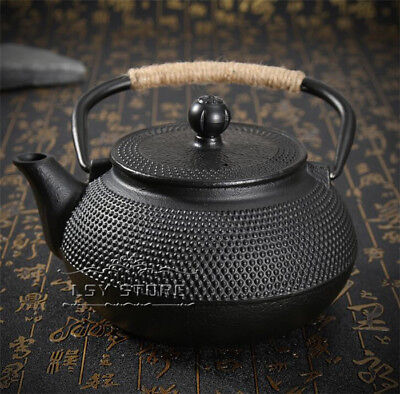 800ml Japanese-style  Drinkware Kettle Cast Iron Tea Pot