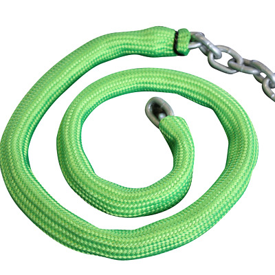 Viper FLURO GREEN Chain Sock To Suit 6mm Short Link Chain – 8mtrs JETSKI KAYAK