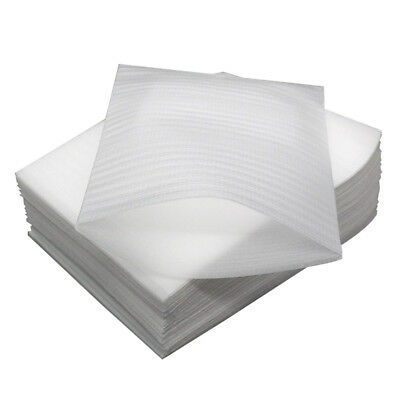 100pcs Cushion Foam Sheets Safely Wrap Dishes Furniture Fragile Items Moving