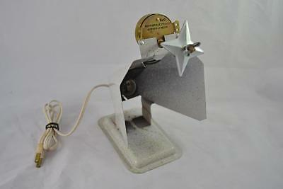 Vintage Penetray Christmas Aluminum Tree Color Wheel Projector - Base Only