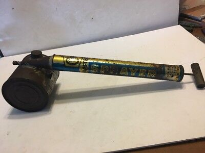 Vintage Coast To Coast Pump Plant Bug Sprayer Wooden Handle