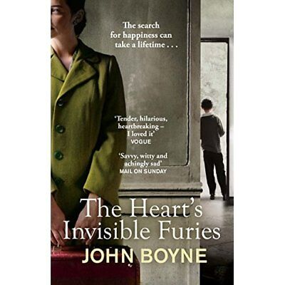 The Hearts Invisible Furies John Boyne NEW Paperback Book Historical Fiction