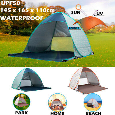 Pop Up Tent Portable UV Sun Shade Outdoor Beach Shelter Camping Hiking Fishing