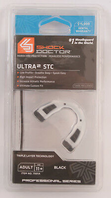 SHOCK DOCTOR ULTRA 2 STC - Protège dents adulte - Adulte Mouthgard