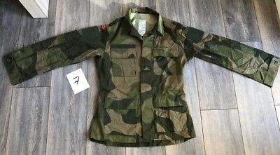 Norway army high quality tactical combat shirt M98 camo