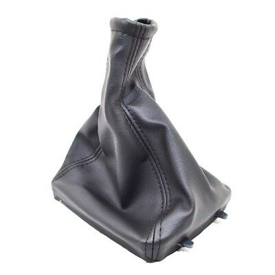 FOR OPEL VAUXHALL ASTRA G ZAFIRA A BLACK LEATHER GEAR SHIFT STICK GAITER  D40o