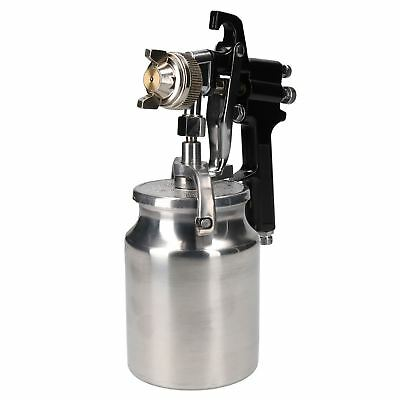 Suction Feed Paint Painting Spray Gun Spraying 1.8mm Nozzle 1 Litre Capacity