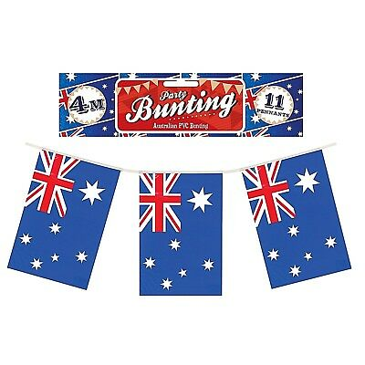 48ft AUSTRALIA AUSTRALIAN AUSSIE DAY PARTY DECORATIONS BUNTING FLAGS F30 585