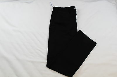 Old Navy Khaki Pants Mens Slim Blac Jack Color Size 34X36 Zip Fly New With Tag