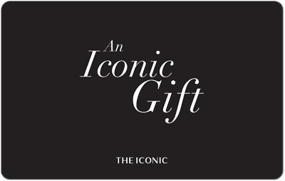 THE ICONIC Gift Card $50 $75 or $100 -  Fast Email Delivery