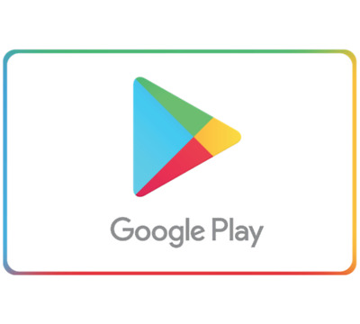 Google Play Gift Code $20 $50 or $100 - Email Delivery