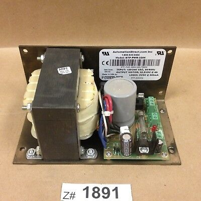 Automation Direct STP-PWR-3204 Power Supply  32VDC 4A With 5VDC 0.5A AUX Supply