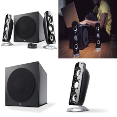92W Powerful Computer Speakers with Subwoofer, a thunderous 2.1 Gaming Speaker