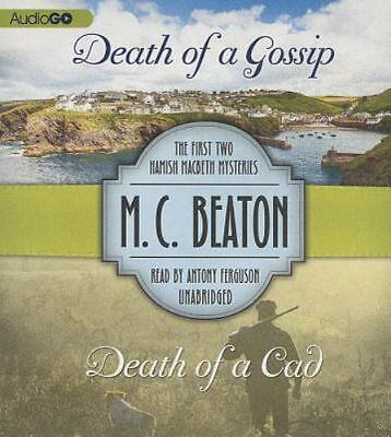 Death of a Gossip & Death of a CAD-M.C. Beaton-First 2 Hamish Macbeth Mysteries
