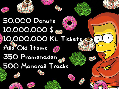 Die Simpsons: Springfield Tapped Out Spiele App - 50.000 Donuts und mehr