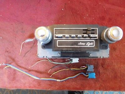 1979 ? 1980 ? 1981 ? Cadillac AM FM 8 Eight Track Stereo WORKING Radio w/ Plugs