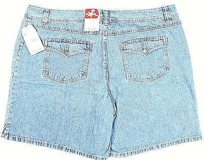 995f2438295 ANA JCPENNEY WOMENS Jean Shorts size 24 Blue Plus W Nice Free Jcp ...