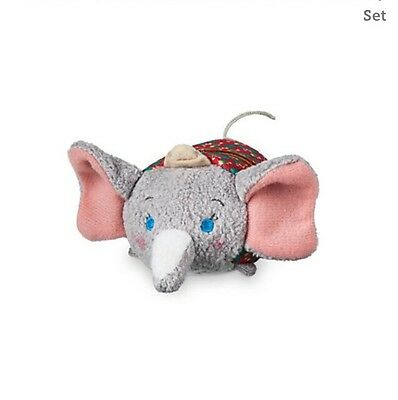 Holiday Dumbo Mini Tsum Tsum  Original Disney Store WITH TAGS LIMITED EDITION