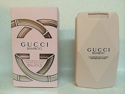 GUCCI BAMBOO PERFUMED BODY LOTION FOR WOMEN 6.7oz / 200ml - NEW IN SEALED BOX