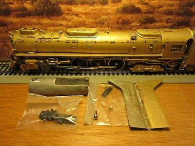 Ho Brass Westside  Union Pacific Fef-3 4-8-4 Steam Locomotive & Tender