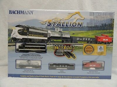 Bachmann Trains The Stallion N Scale Ready-To-Run Electric Train Set 24025 New