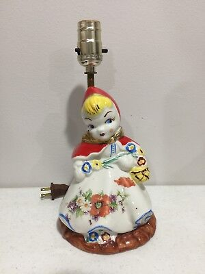 Hull Pottrey Little Red Riding Hood Working Standing Lamp