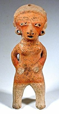 Pre-Columbian Chinesca Figure Nayarit Mexico Ex Sotheby '77