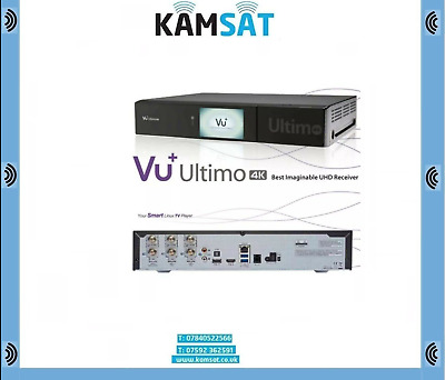 VU+ Ultimo 4K 1xDVB-S2 FBC Twin PVR Receiver E2 Linux UHD 2160p Receiver Enigma2
