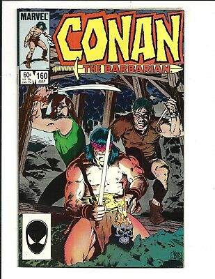Conan The Barbarian # 160 (July 1984), Fn