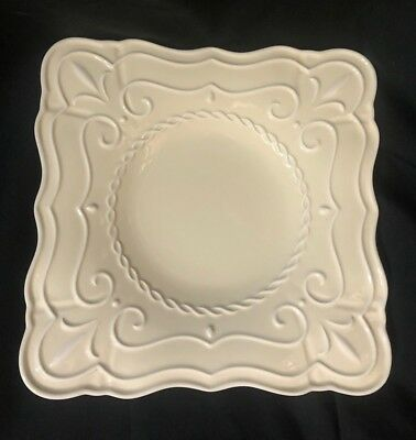 Lenox Butler's Pantry Patisserie Square Accent Plate ~new~