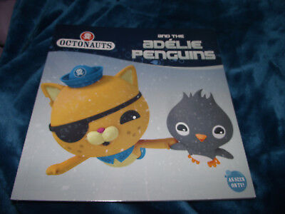 BRAND NEW Paperback Picture Book As Seen on TV Octonauts and the Adelie Penguins