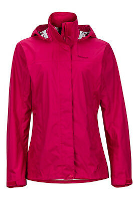 Marmot Women's Precip Jacket Bright Ruby M