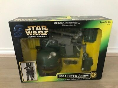 1999 kenner Star wars the power of the force 4 NEW SEALED IN BOX- Boba Fetts Arm