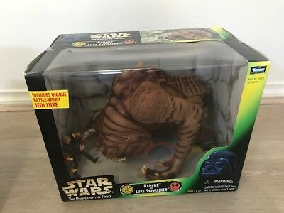 1999 kenner Star wars the power of the force 6 NEW SEALED IN BOX- Rancor