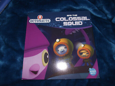 BRAND NEW Paperback Picture Book As Seen on TV Octonauts and the Colossal Squid