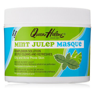 [Queen Helene] Mint Julep Masque 3Oz For Oily And Acne Prone Skin Face