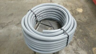 "Flexible Liquid Tight, Non-Metallic, Electrical PVC Conduit 3/4"" x 100' Roll"