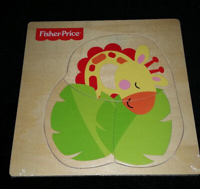 Fisher Price My First Animal Puzzle 12M+ Baby Toddler Pre School Toy